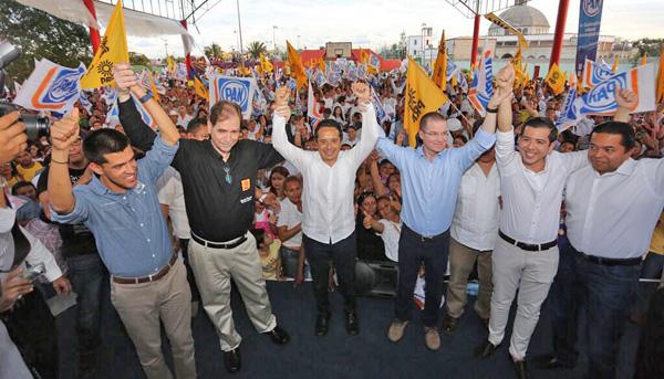 Arrancan precampaña precandidatos a Gobernador por Quintana Roo, Carlos  Joaquín y Fernando Méndez - PAN Quintana Roo